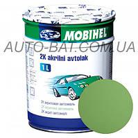 Автоэмаль двухкомпонентная автокраска акриловая (2К) 325 Светло-зелёная Mobihel, 0,75 л