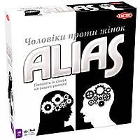 """Настольная игра Tactic Alias """"Мужчины против женщин"""" (Алиас) (54338)"""