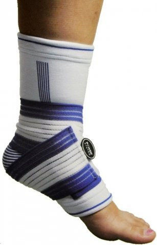 Фиксатор голени Power System ANKLE  SUPPORT PRO PS-6009  L/XL