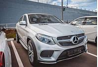 Пороги подножки Mercedes-Benz GLC X253 2015+