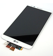Оригинальный дисплей (модуль) + тачскрин (сенсор) для LG G2 D800 | D801 | D803 | LS980 (белый цвет)