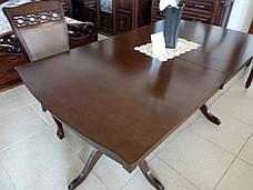 Стол обеденный  деревянный Женева Sof, цвет орех, фото 3