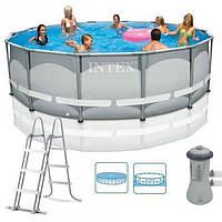 Каркасный бассейн Intex 427-107 см