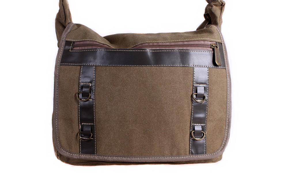 4d9791a8bcdd Мужская тканевая сумка через плечо бежевая, цена 496 грн., купить в ...