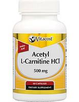 Vitacost Acetyl L-Carnitine HCI 500mg (60 капс.)