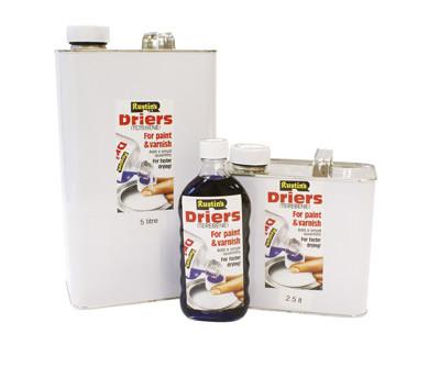 Сиккатив (терпентин) Driers - Новая технология. Rustins в Херсоне