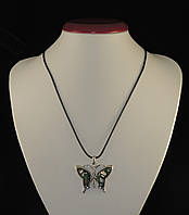 Кулон из галиотиса, бабочка3