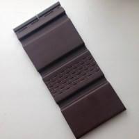 Панель софит  перфор., б/перфорации коричневая
