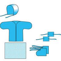 Комплект одягу медичної для новонародженого-віскоза