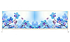 Экран под ванну «АРТ», Орхидея-1, 150см.