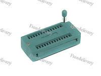 ZIF панель 28 pin с нулевым усилием, IC