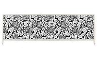 Экран под ванну «АРТ», Черная Роза, 150см.