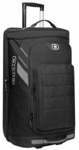 Удобная дорожная сумка на колесах 95.5 л, 121016.030, черный