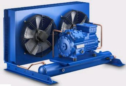 Холодильный агрегат ECU-HGX 380-S-CR