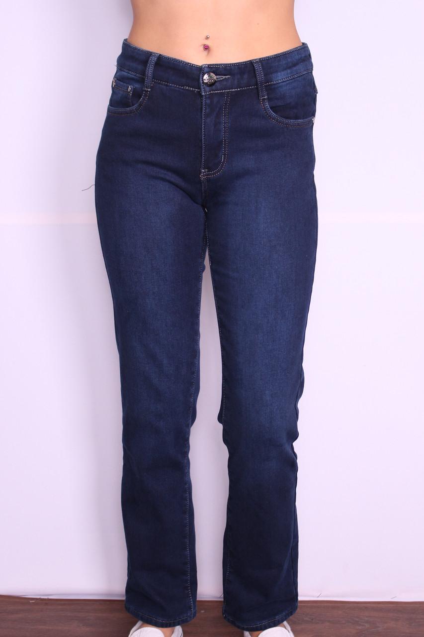 Женские  утепленные джинсы больших размеров 30-42.