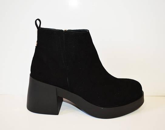 Черные женские ботинки El Passo 1895, фото 2