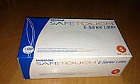 """Перчатки латексные опудренные, нестерильные """"Safe-Touch"""" E-Series (размер S)"""