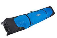 Чехол на колесах для 2-х пар лыж Thule RoundTrip Double Ski Roller 195cm (Black/Cobalt)