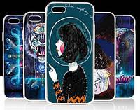 ЧЕХОЛ Epik Ultrathin iPhone 7+ 7 plus - 5,5'' принт 4 цвета качество