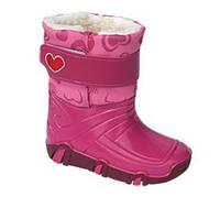 Демисезонные сапоги Zetpol Winter 02 розовые 35-36