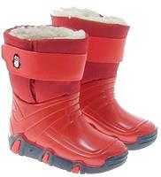 Демисезонные сапоги Zetpol Winter 03 красные 31-32