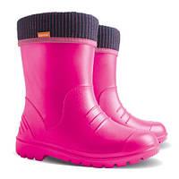 Резиновые сапоги DEMAR DINO f (розовые) 30-31