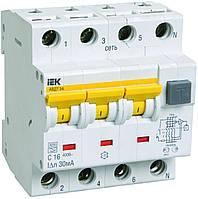 Автоматические выключатели дифференциального тока АВДТ34 C6 10мА IEK