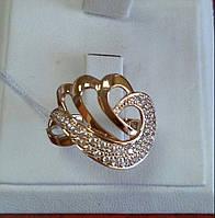 Кольцо золотое 585 пробы, фото 1