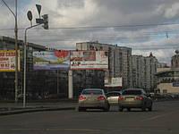Ситилайты в центре Киева, ул. Бассейная