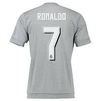 Детская футбольная форма Реал Мадрид (серая, резервная), с Роналдо №7, фото 1