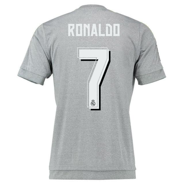 Детская футбольная форма Реал Мадрид (серая, резервная), с Роналдо №7 9b20229fdec