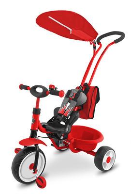 Велосипед детский трехколесный Milly Mally Boby Deluxe (Польша)
