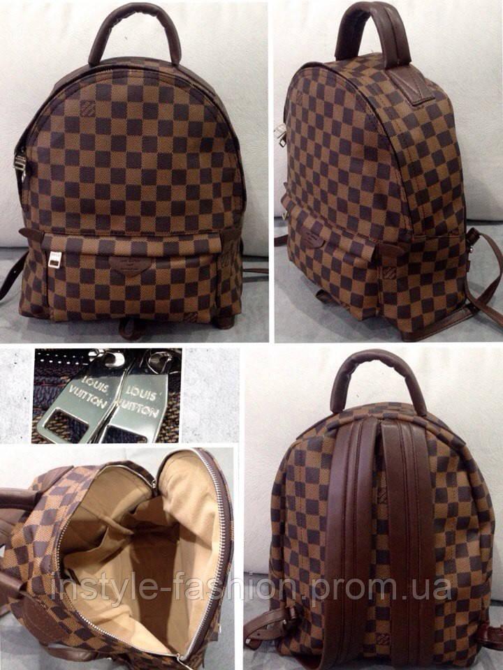 Сумка-рюкзак louis vuitton женская, коричневая школьные рюкзаки оптом от производителя москва