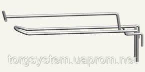 Крючок двойной  с ценодержателем L-150 4 м (краска)