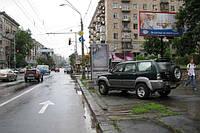Билборды на ул. Амурская и др. улицах Киева