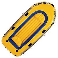Intex 68369 Challenger-3 Set Трехместная надувная лодка