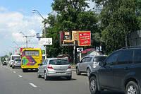 Ситилайты на ул. Владимирская и др. улицах Киева