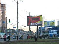 Ситилайты на ул. Нижний Вал и др. улицах Киева