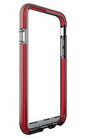 Чехол Бампер Tech21 Evo Band Case Apple iPhone 6/6s Smokey/Red