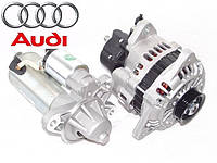 Стартер, генератор на  Audi (Ауди). AS Poland - европейское качество новых запчастей.