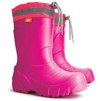 Демисезонные сапоги DEMAR Mammut-S f (розовые) 30-31