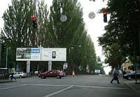 Билборды на ул. Вышгородская и др. улицах Киева