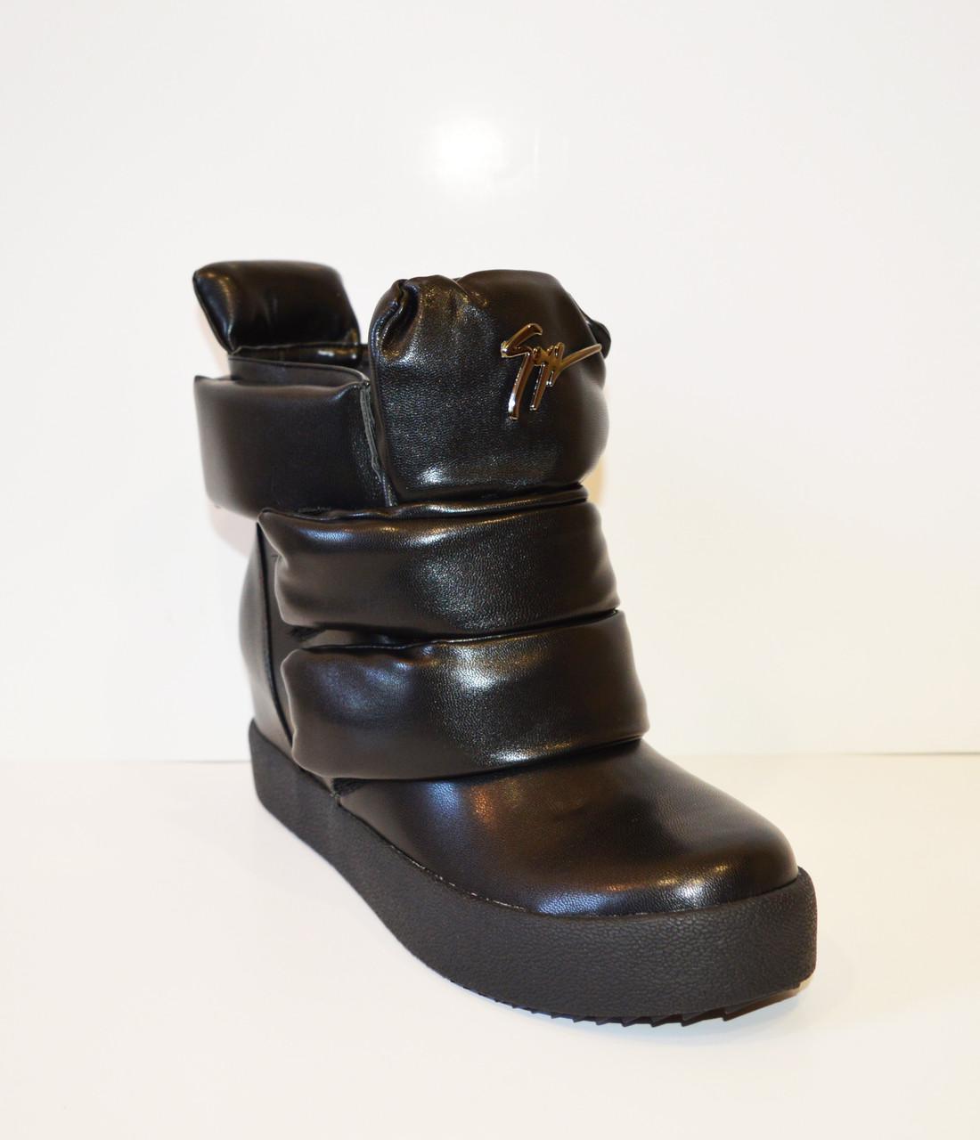 Осенние кожаные ботинки Fabio Monelli 1022