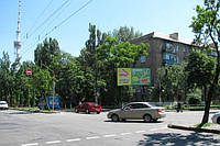 Ситилайты на ул. Горького и др. улицах Киева