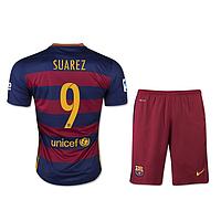 Детская футбольная форма Барселоны (Суарез №9)