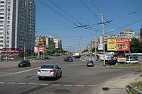 Ситилайты на ул. М. Грушевского и др. улицах Киева