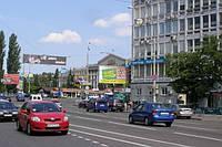 Ситилайты на ул. Красноармейская и др. улицах Киева
