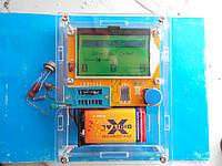 Измеритель ESR, LCR, тестер полупроводников в корпусе.