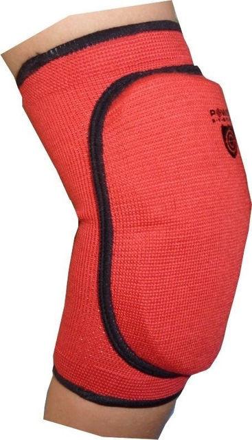 Бинты кистевые, коленные Power System Налокотник ELASTIC ELBOW PAD PS-6004 Red - Lucky-Sport в Херсоне