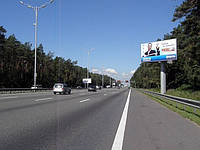 Ситилайты на Набережном шоосе и др. улицах Киева